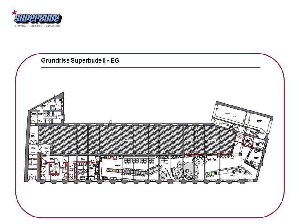 Grundriss Superbude II - EG