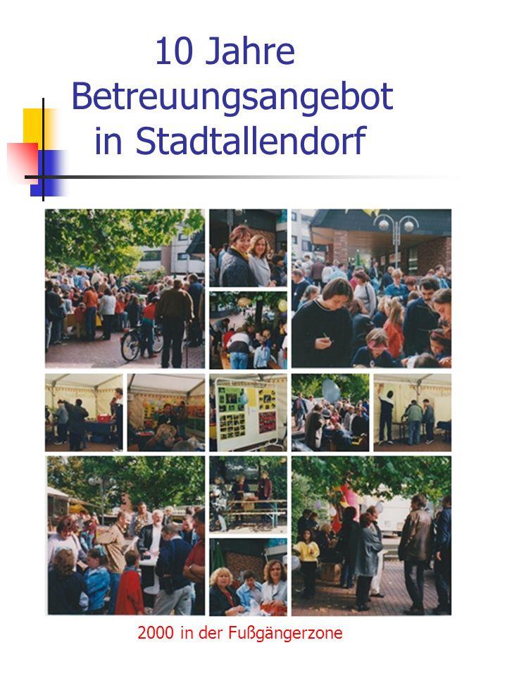 10 Jahre Betreuungsangebot in Stadtallendorf