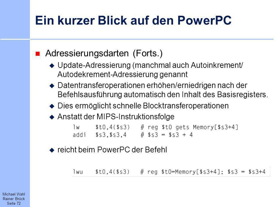 Ein kurzer Blick auf den PowerPC