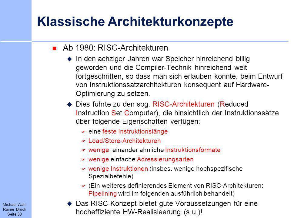 Klassische Architekturkonzepte