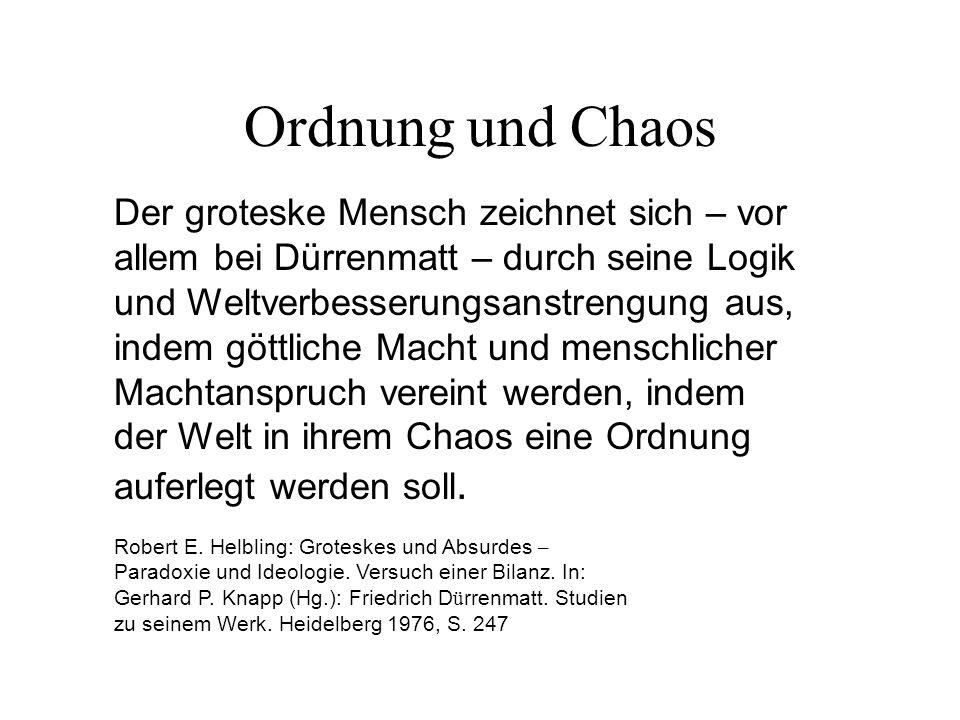 Ordnung und Chaos