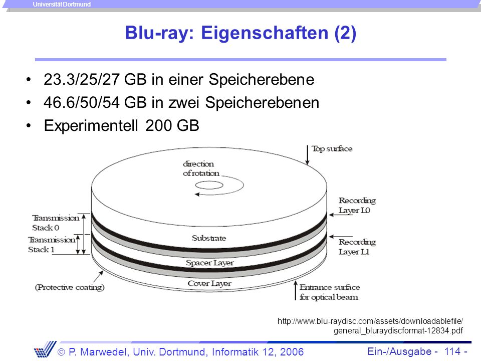 Blu-ray: Eigenschaften (2)