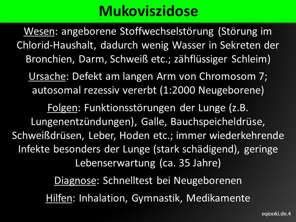 Mukoviszidose