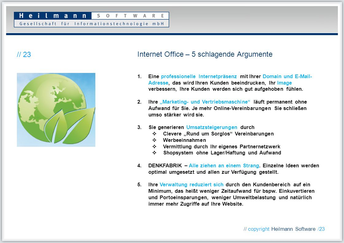 Internet Office – 5 schlagende Argumente