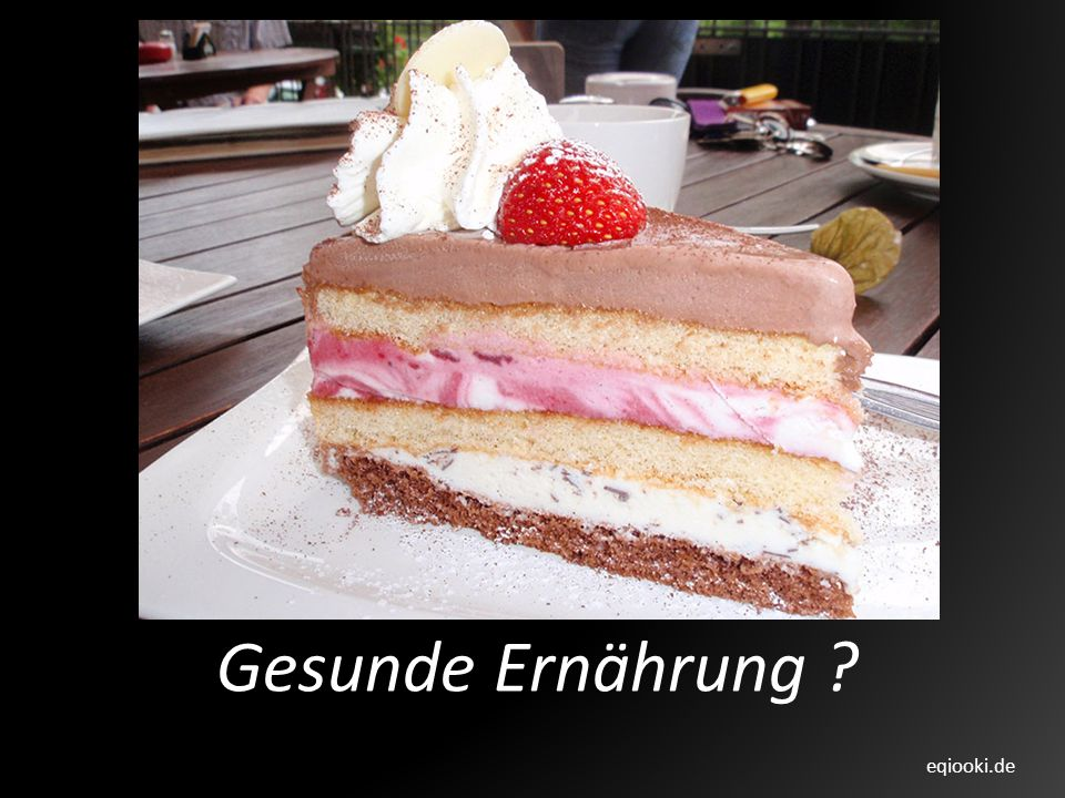 Gesunde Ernährung eqiooki.de