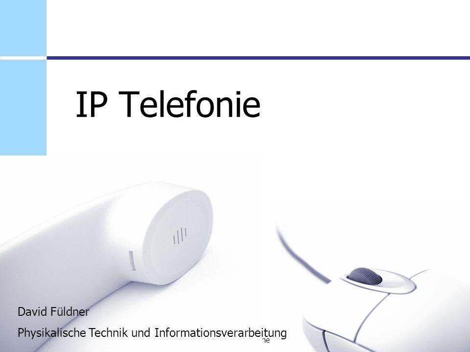 IP Telefonie David Füldner