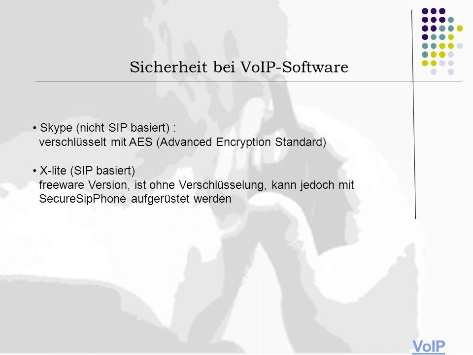 Sicherheit bei VoIP-Software