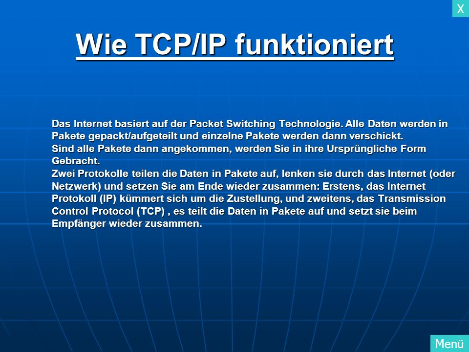 Wie TCP/IP funktioniert