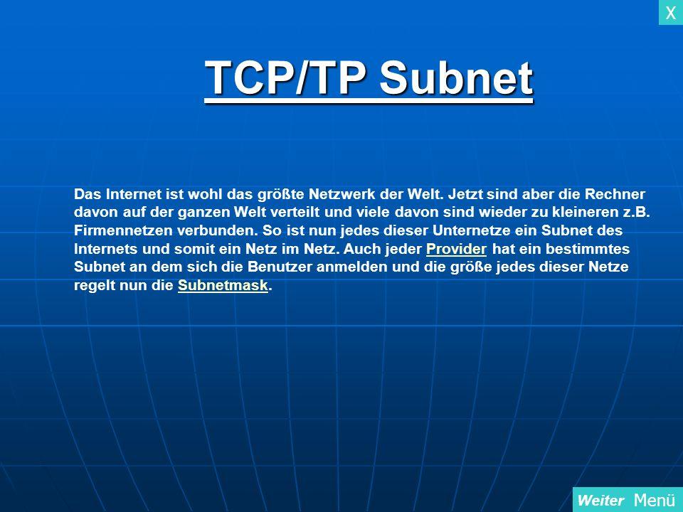 TCP/TP Subnet