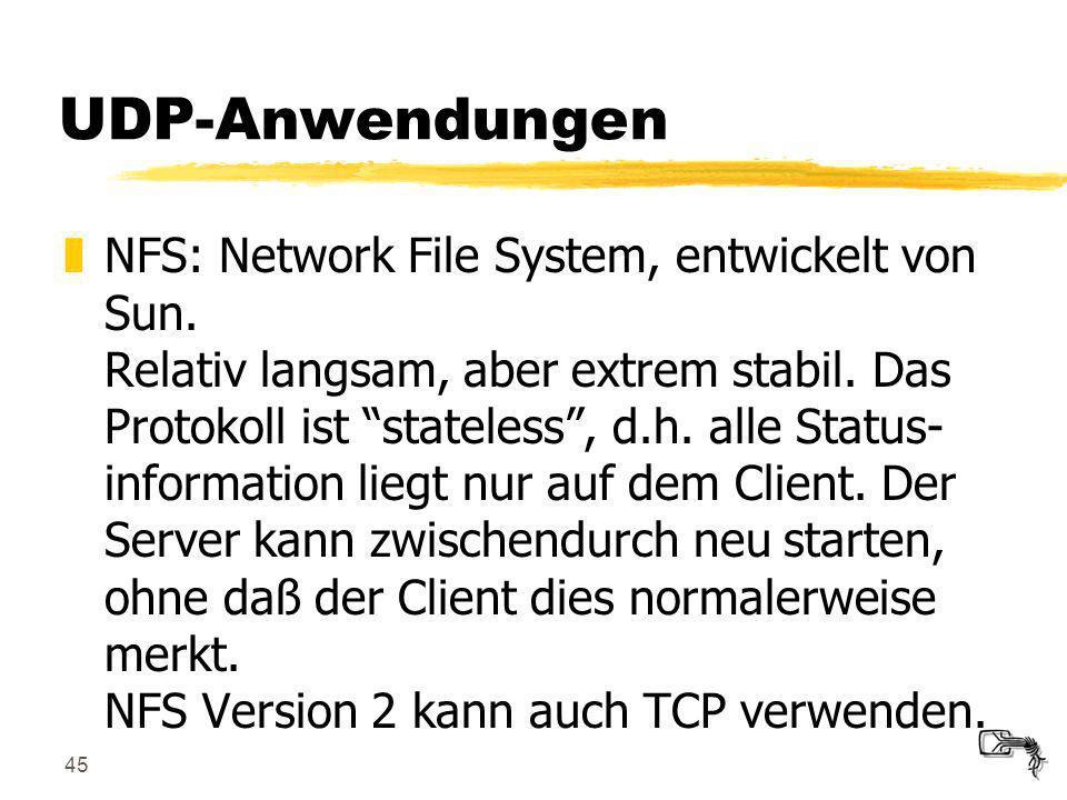 UDP-Anwendungen