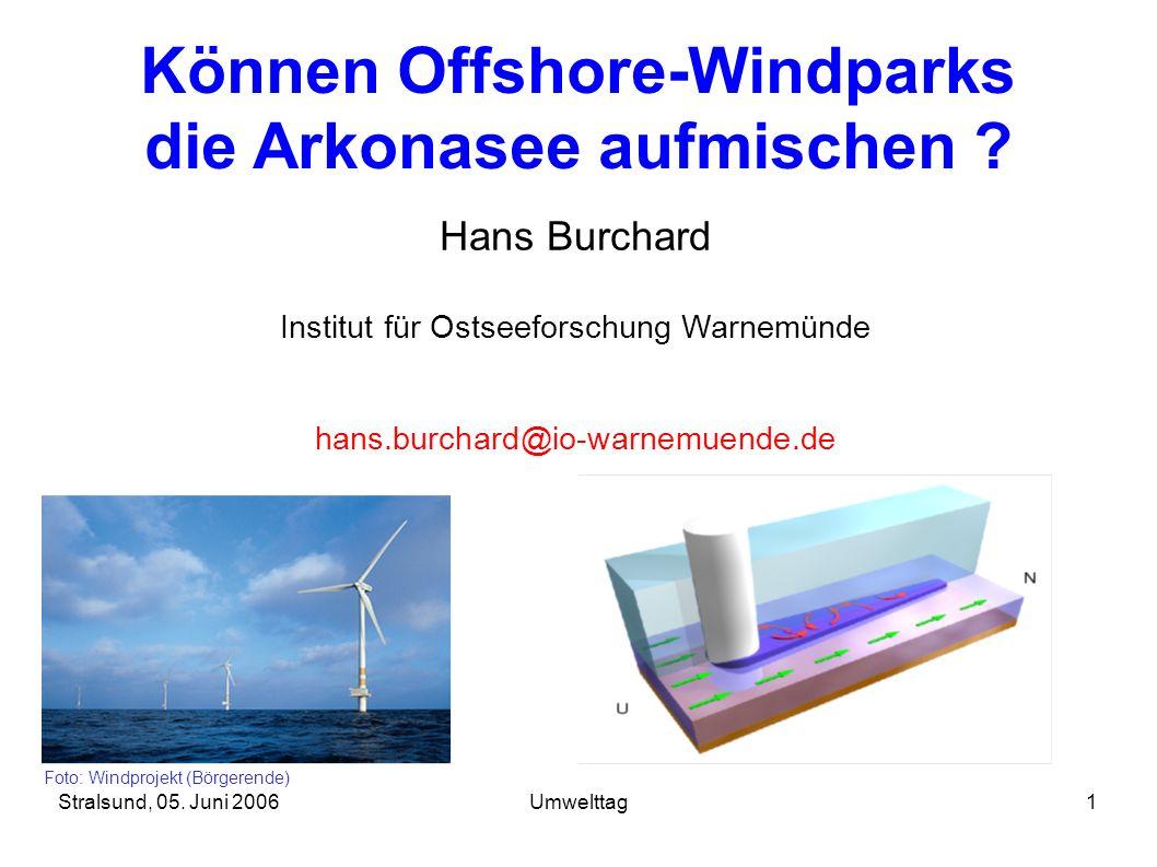 Können Offshore-Windparks die Arkonasee aufmischen