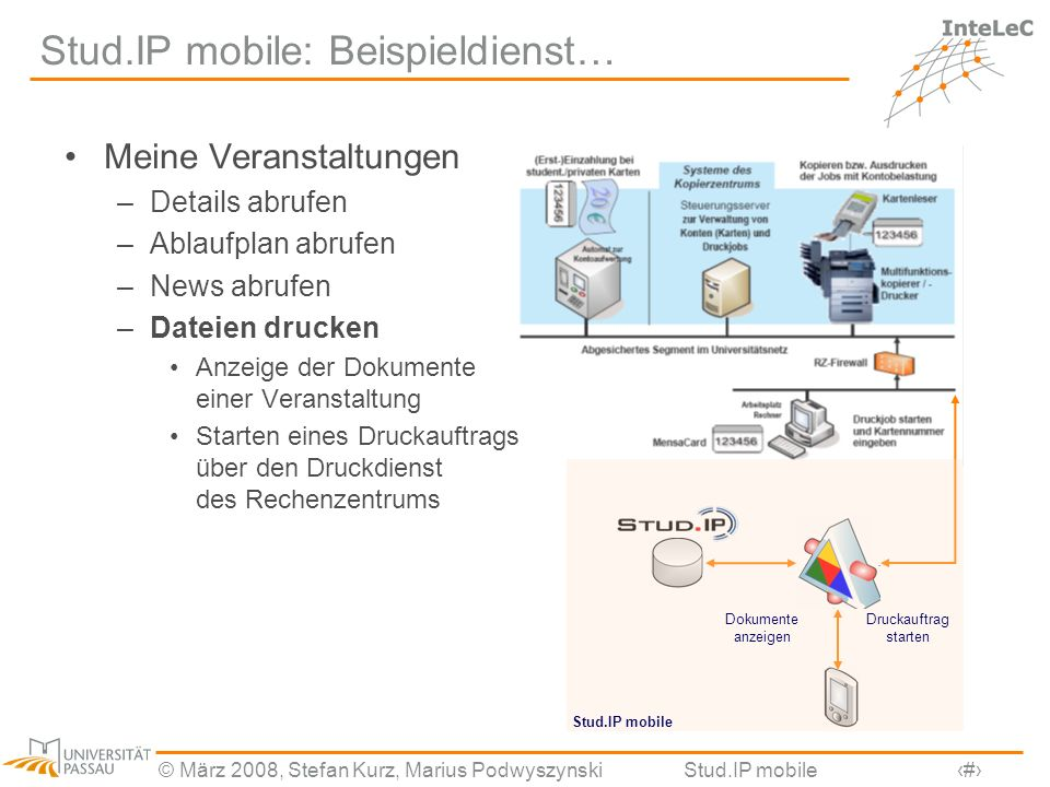 Stud.IP mobile: Beispieldienst…