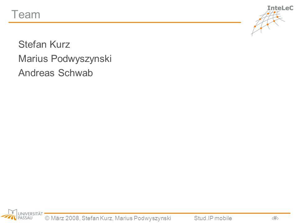 Team Stefan Kurz Marius Podwyszynski Andreas Schwab