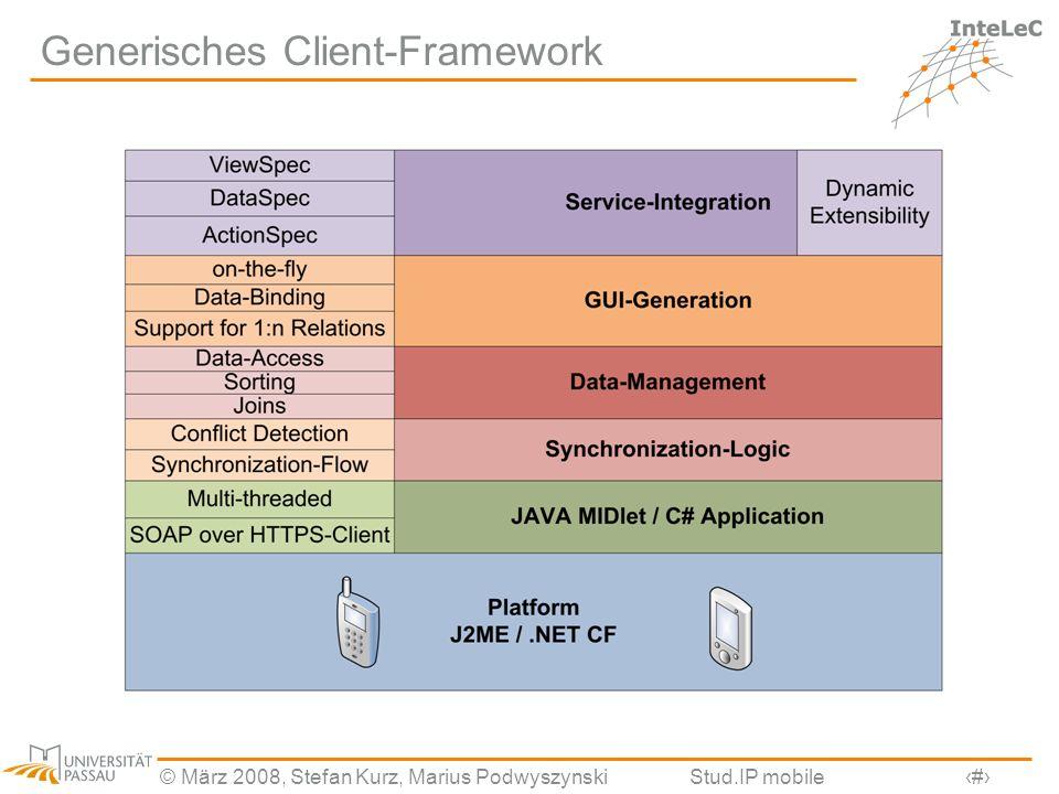 Generisches Client-Framework