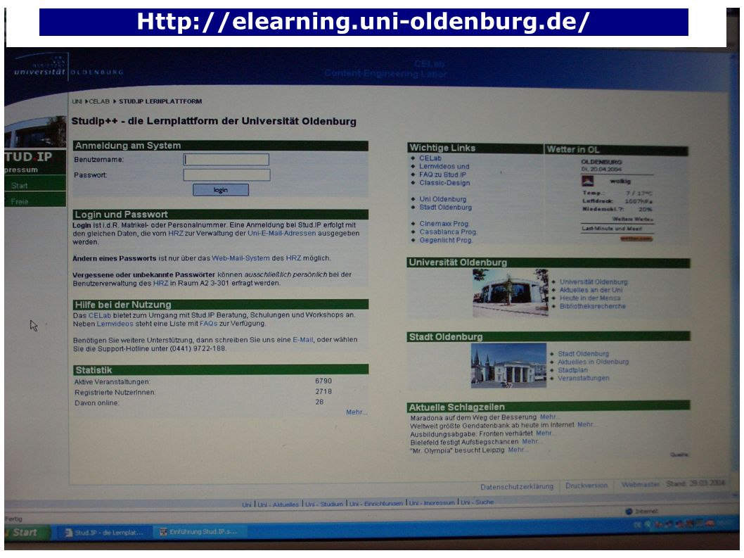 Http://elearning.uni-oldenburg.de/