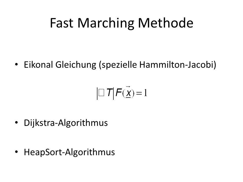 Fast Marching Methode Eikonal Gleichung (spezielle Hammilton-Jacobi)
