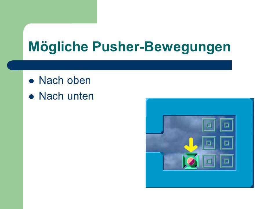 Mögliche Pusher-Bewegungen