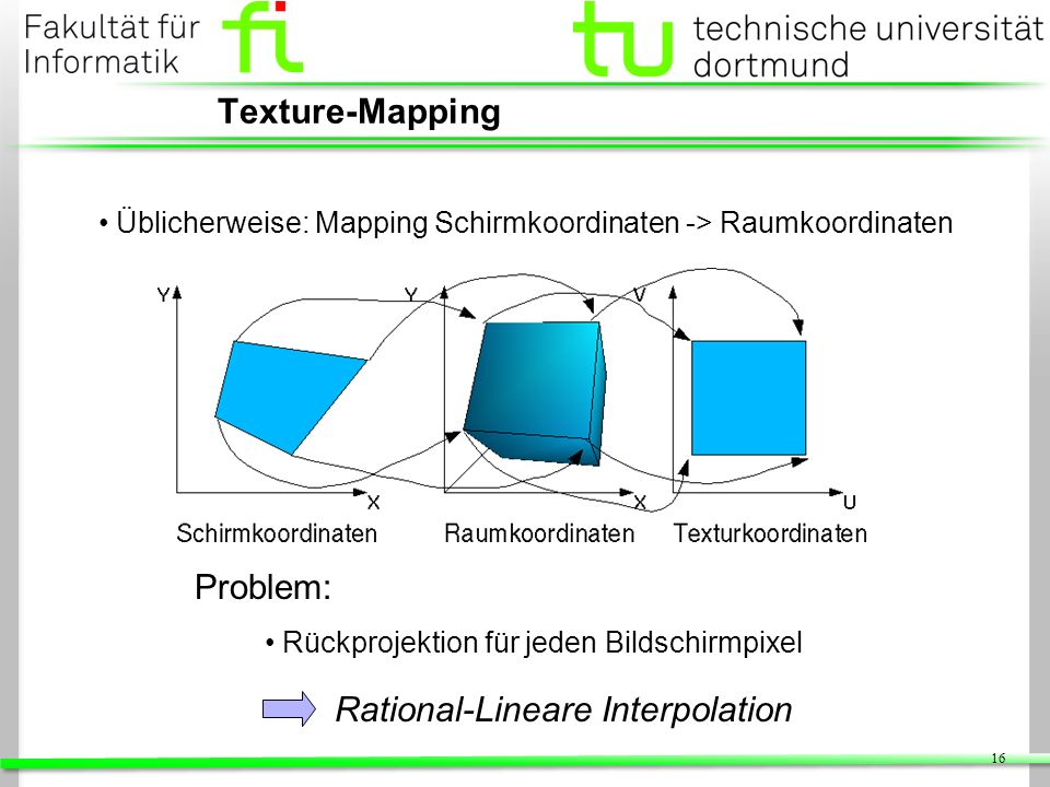 Rational-Lineare Interpolation
