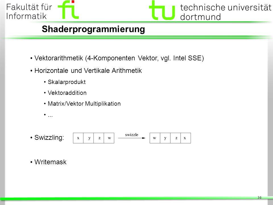 Shaderprogrammierung