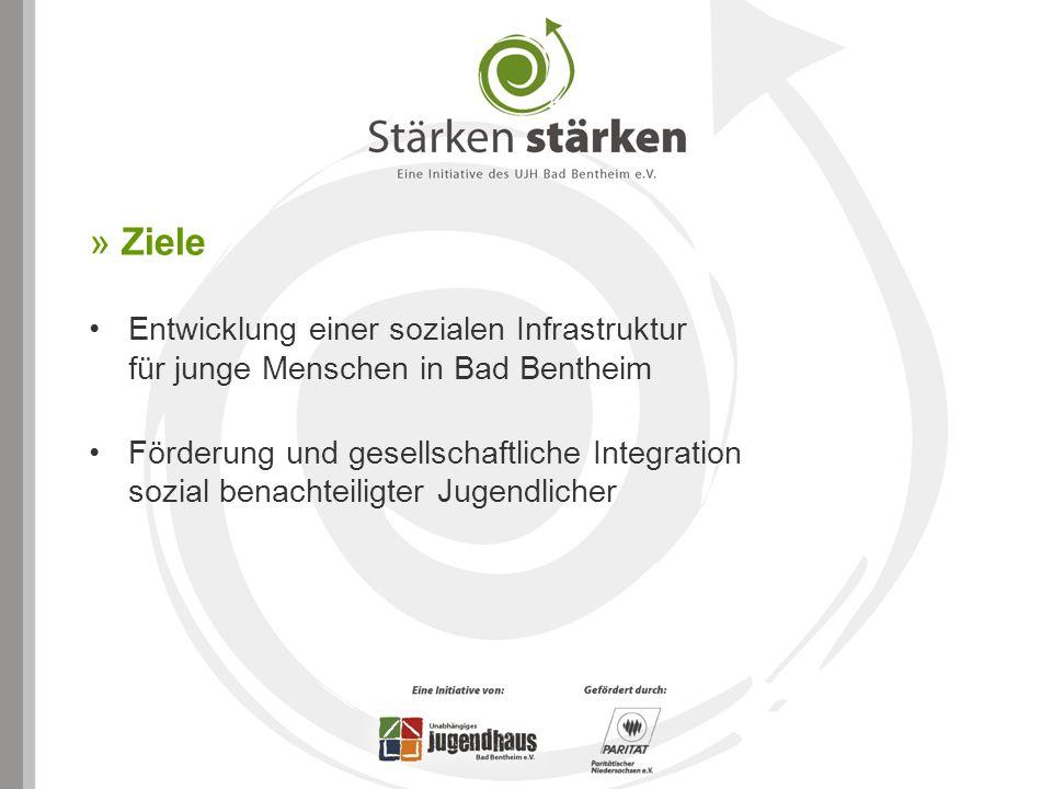 » Ziele Entwicklung einer sozialen Infrastruktur für junge Menschen in Bad Bentheim.