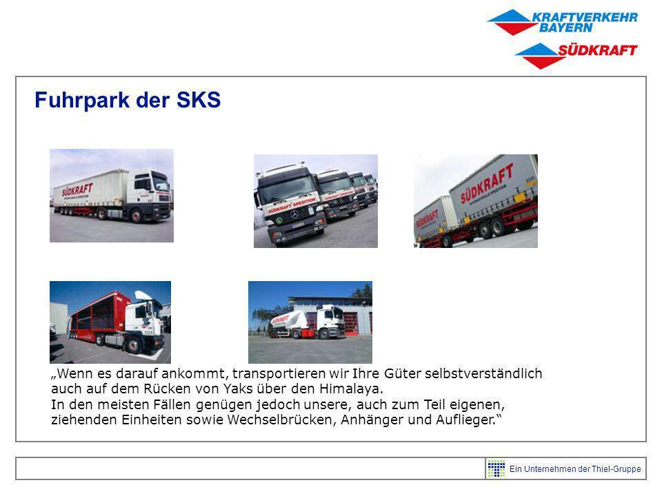 Fuhrpark der SKS