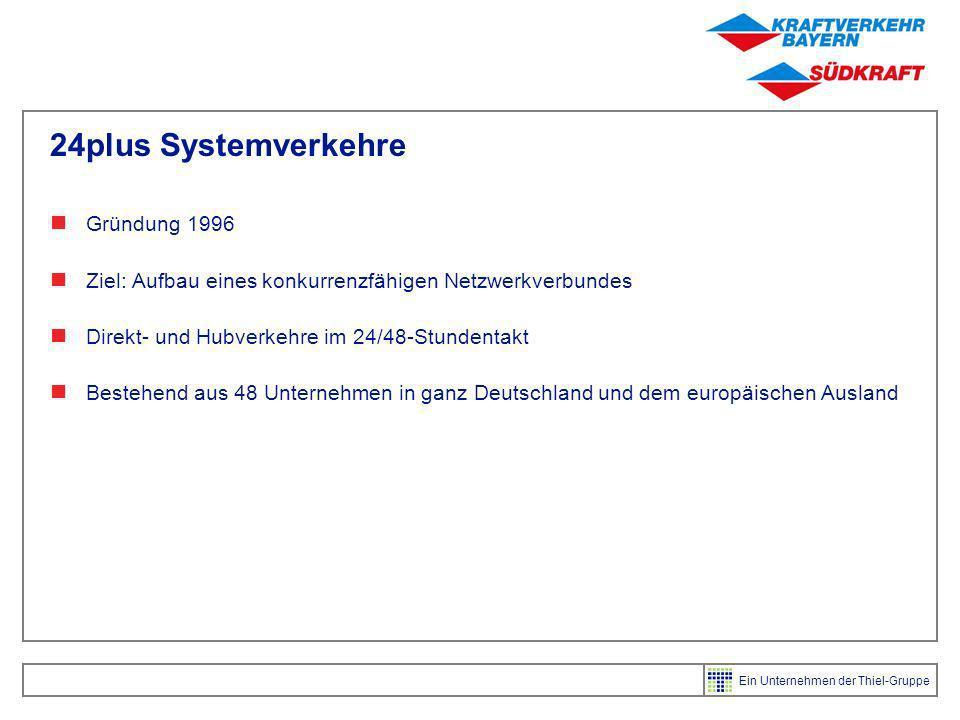 24plus Systemverkehre Gründung 1996