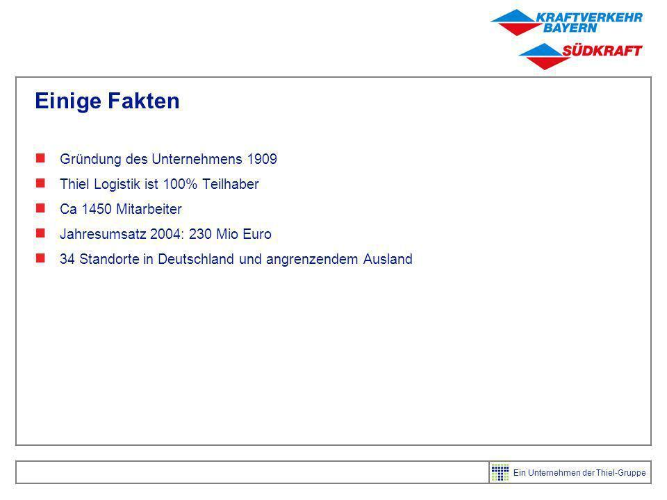 Einige Fakten Gründung des Unternehmens 1909