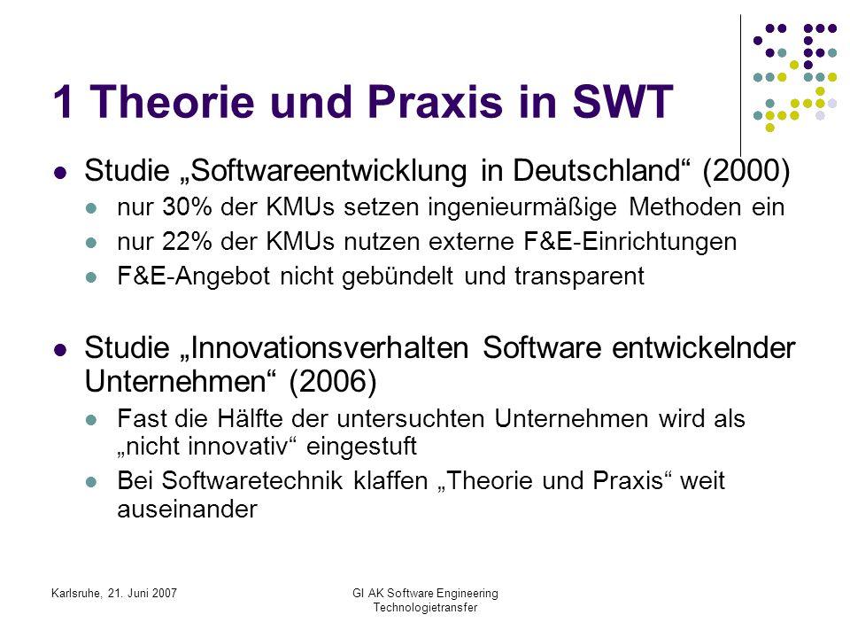 1 Theorie und Praxis in SWT