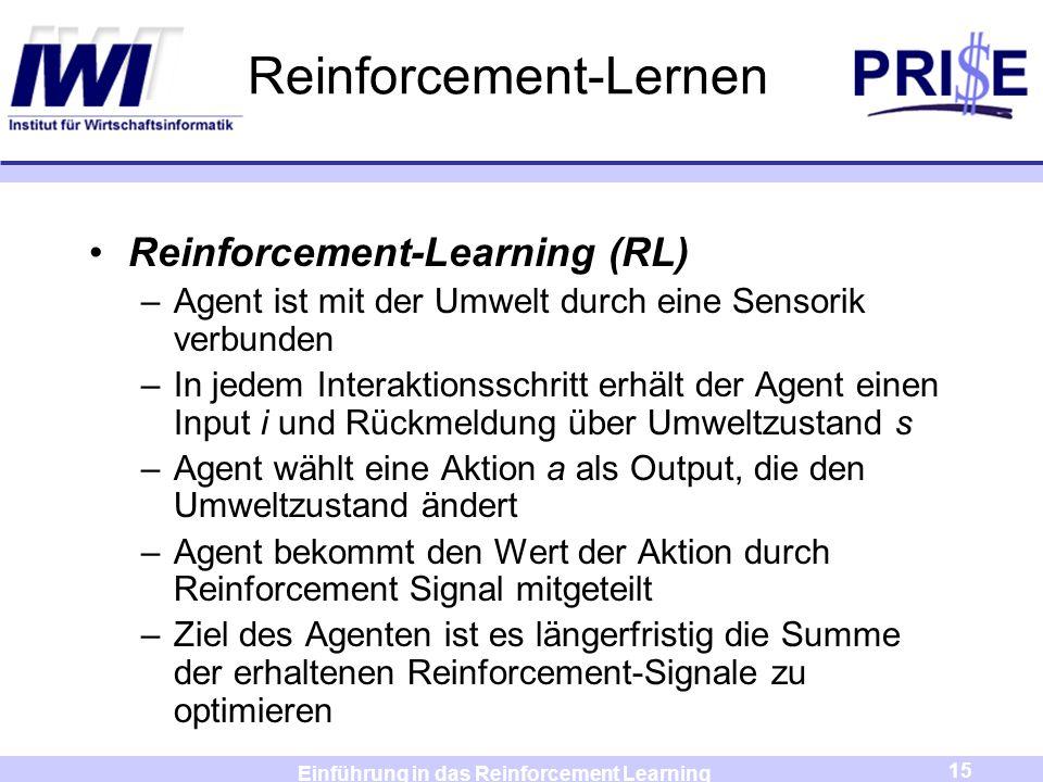 Reinforcement-Lernen