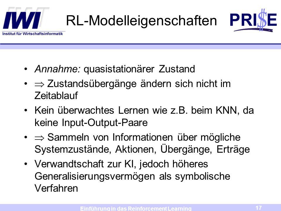 RL-Modelleigenschaften