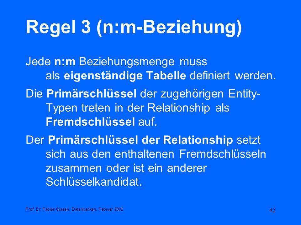 Regel 3 (n:m-Beziehung)