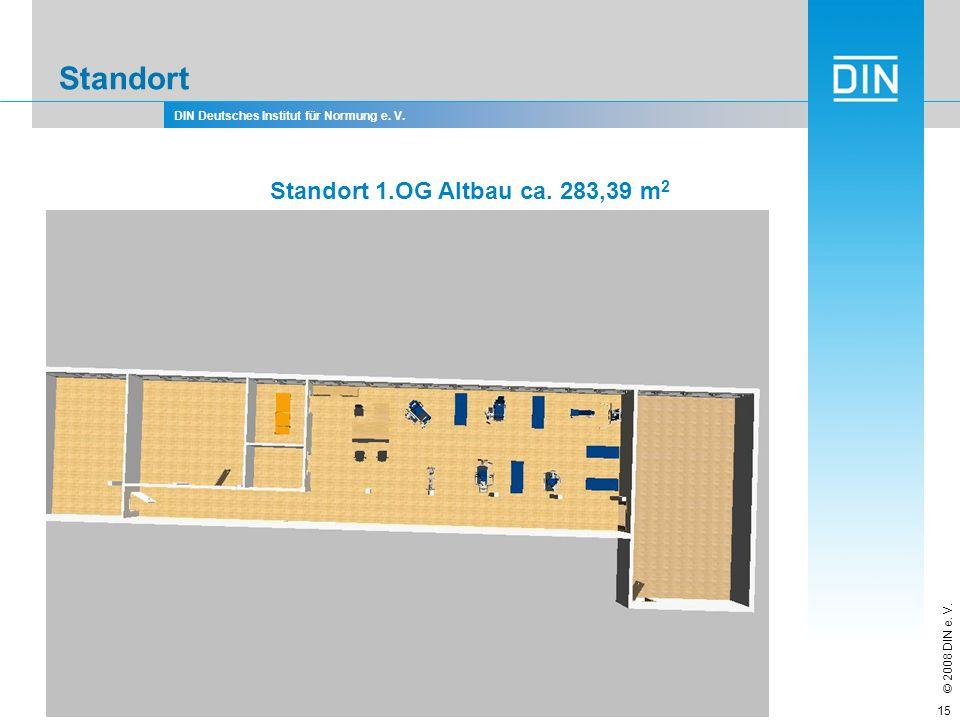 Standort Standort 1.OG Altbau ca. 283,39 m2