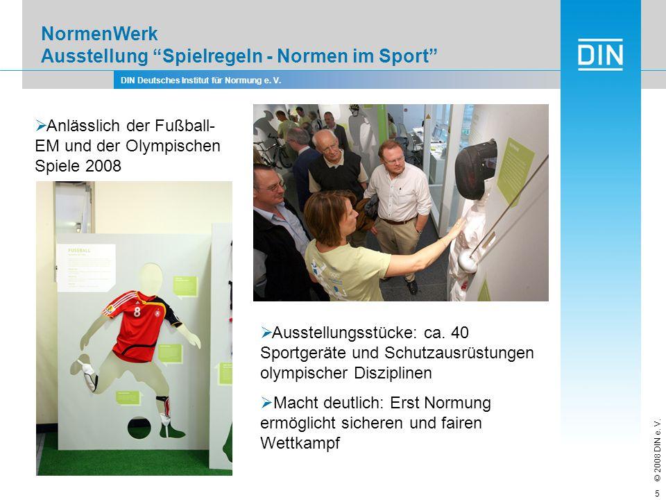 NormenWerk Ausstellung Spielregeln - Normen im Sport