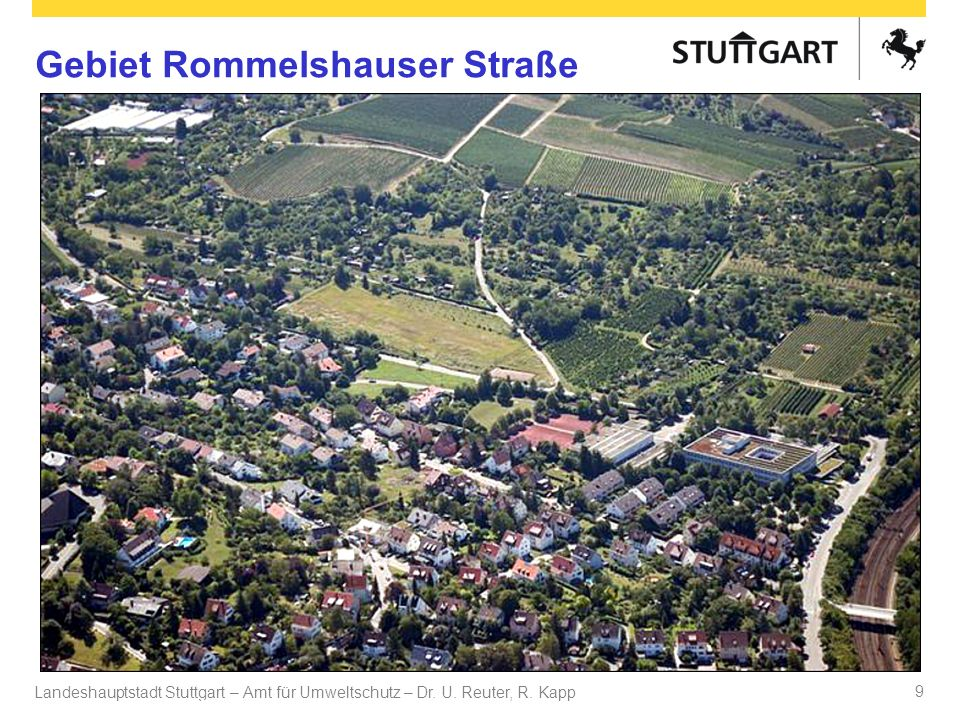 Gebiet Rommelshauser Straße
