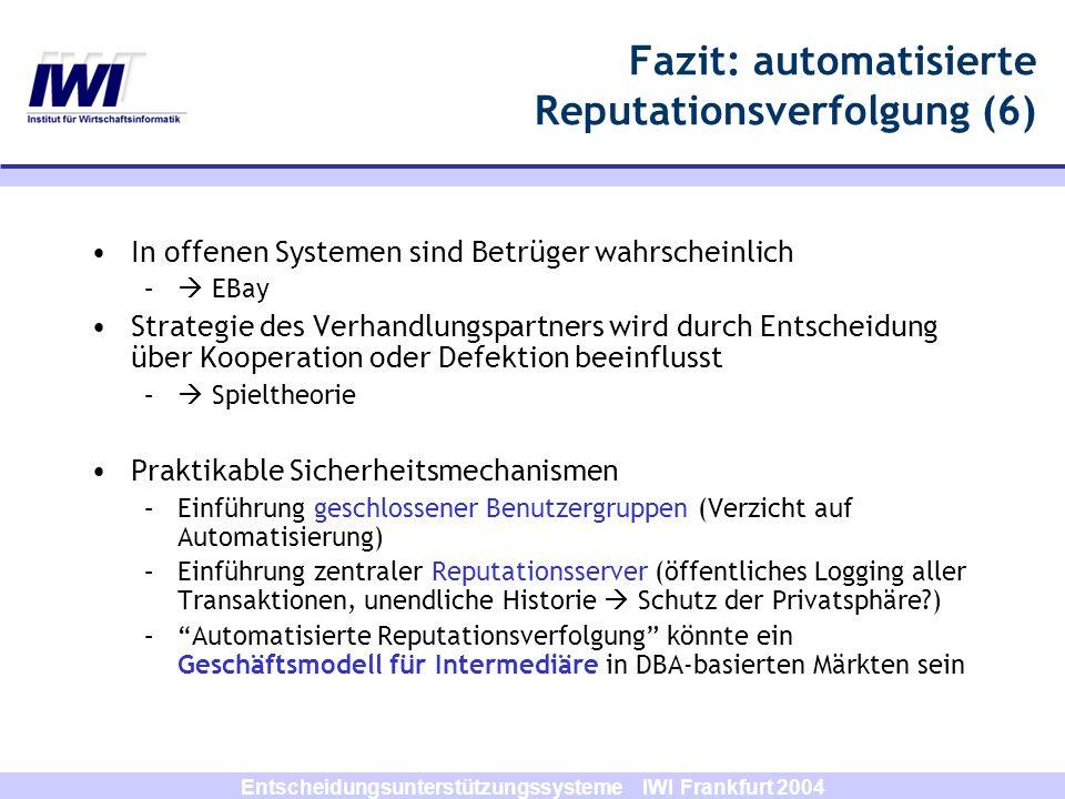 Fazit: automatisierte Reputationsverfolgung (6)