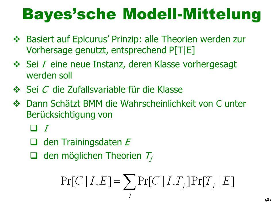 Bayes'sche Modell-Mittelung