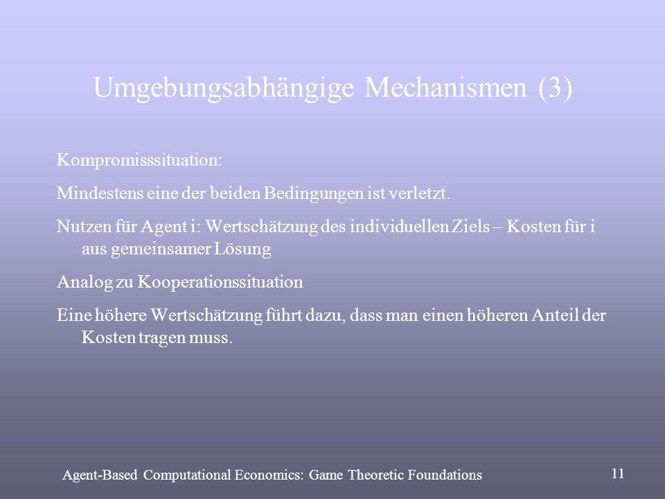 Umgebungsabhängige Mechanismen (3)