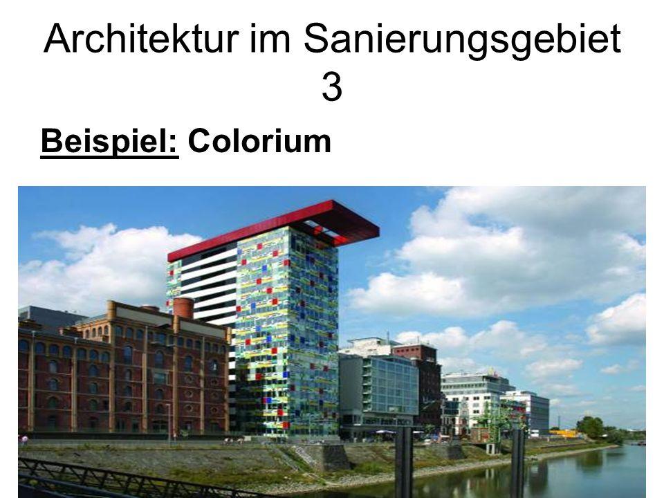 Architektur im Sanierungsgebiet 3