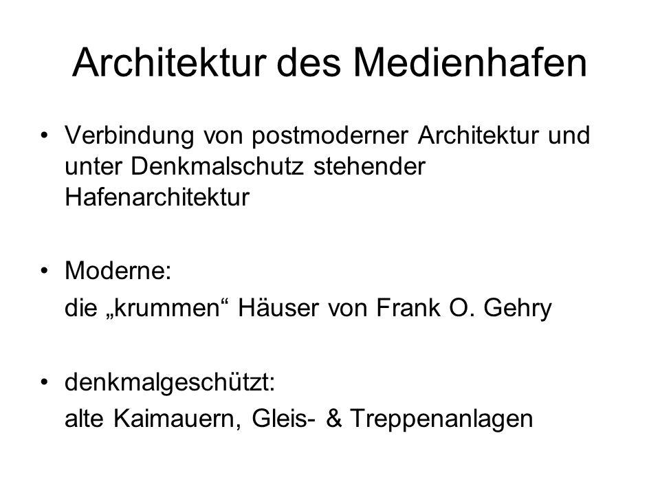 Architektur des Medienhafen