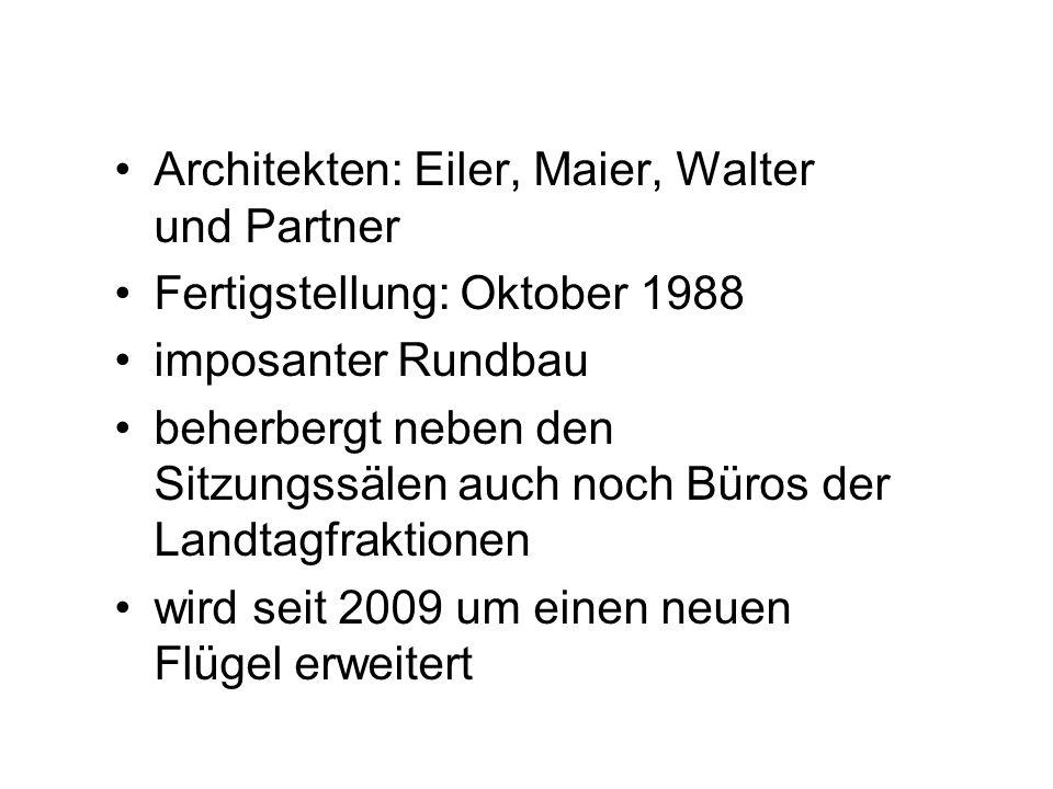 Architekten: Eiler, Maier, Walter und Partner