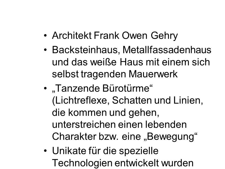 Architekt Frank Owen Gehry