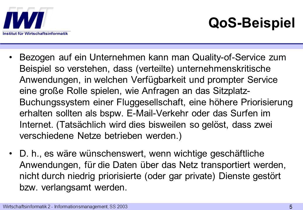 QoS-Beispiel
