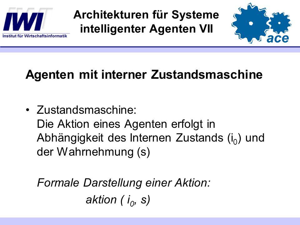 Architekturen für Systeme intelligenter Agenten VII