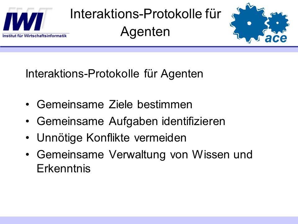 Interaktions-Protokolle für Agenten