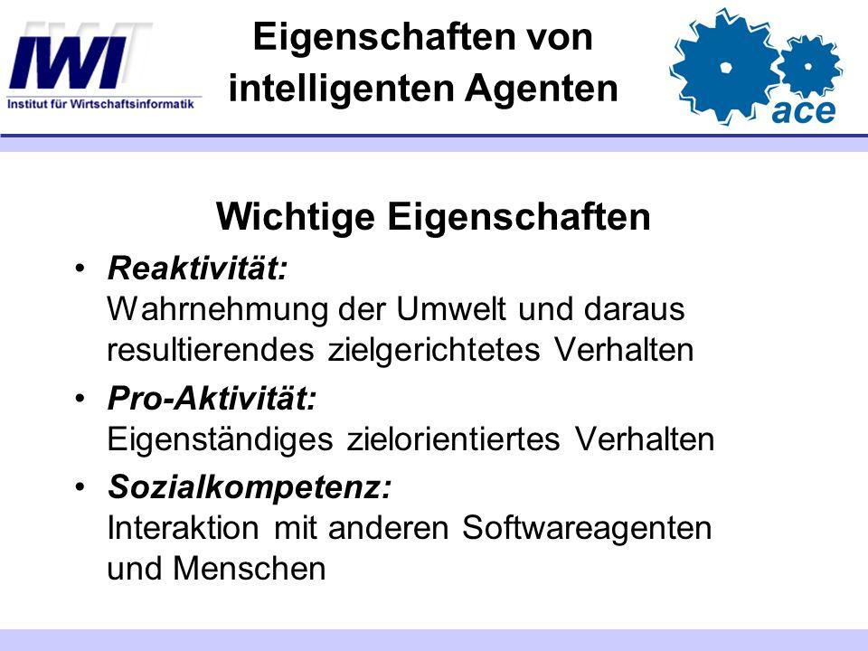 Eigenschaften von intelligenten Agenten