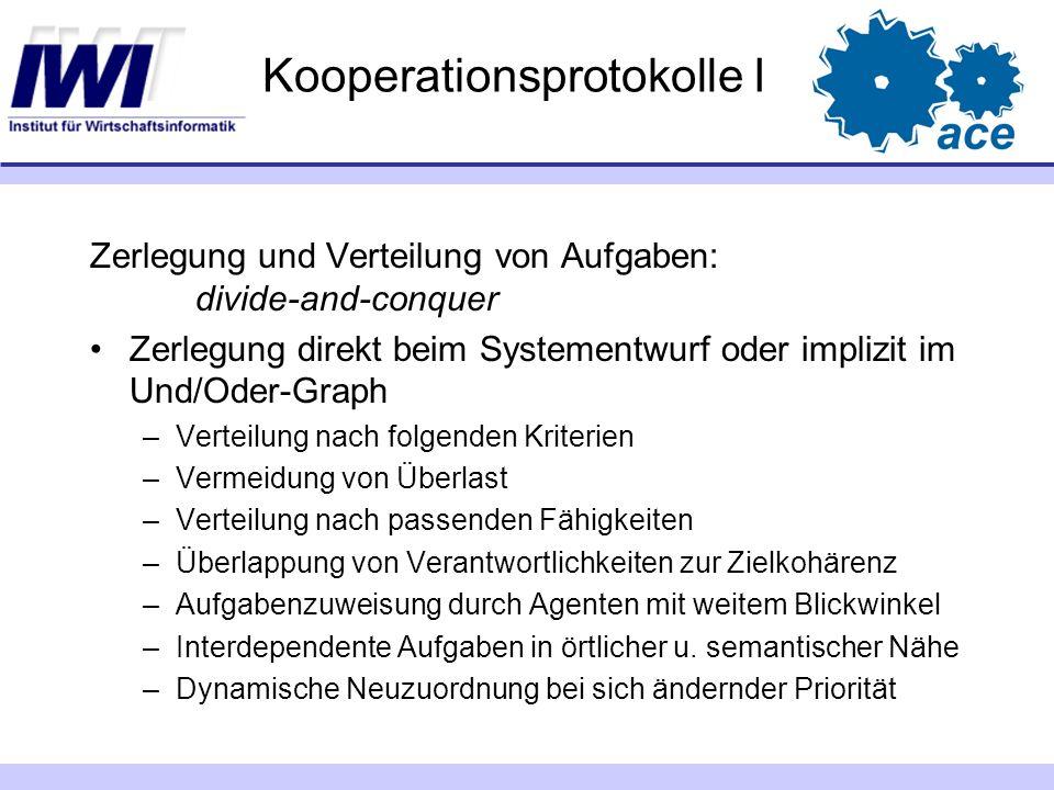 Kooperationsprotokolle I