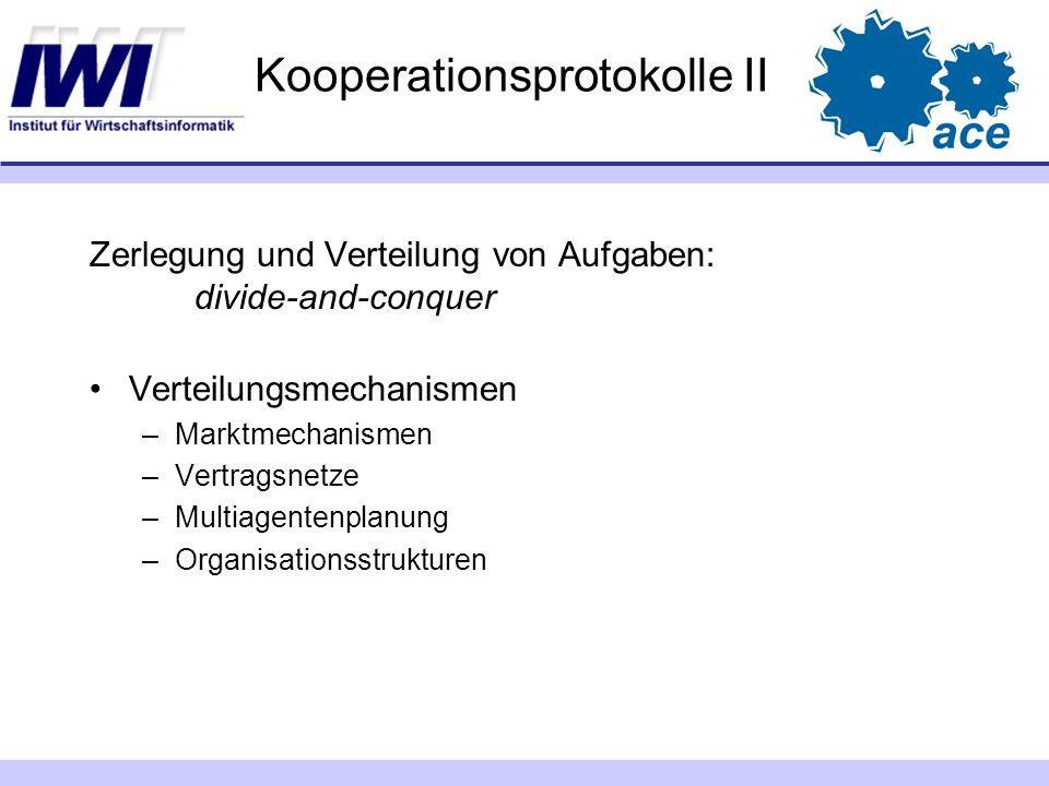 Kooperationsprotokolle II