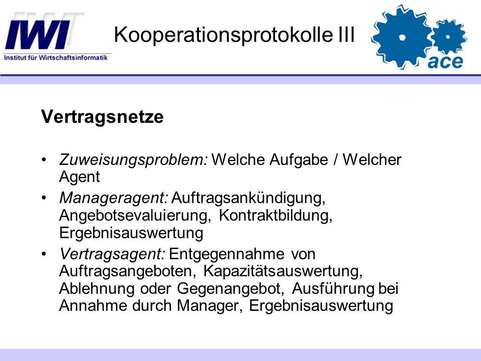 Kooperationsprotokolle III