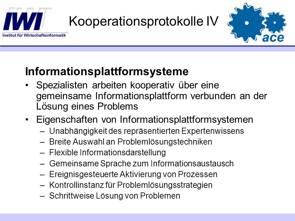 Kooperationsprotokolle IV