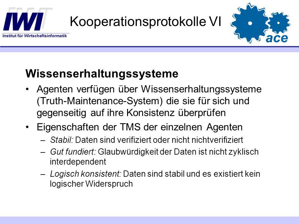 Kooperationsprotokolle VI